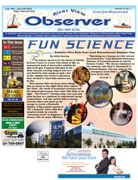 online magazine - River View Observer July 16 to July 27th