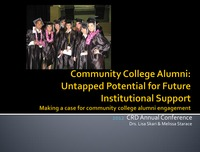 online magazine - Community College Alumni: Untapped Potential