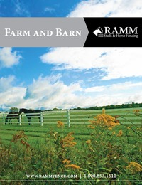 online magazine - Ramm Fence and Horse Stalls Catalog