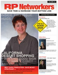 online magazine - March 2013 issue RPnetworkers.com Meet Sara, Fla School and more!