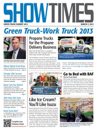 online magazine - ShowTimes Clean Fuels & Vehicle News - March 7, 2013