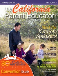 online magazine - California Parent Educator April 2013
