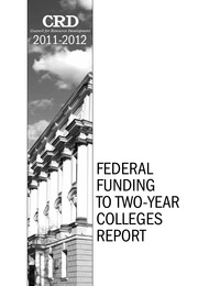 online magazine - 2011-2012 Federal Funding to Two-Year Colleges Report