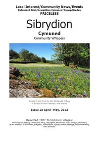 online magazine - Sibrydion Cymuned April / May 2013