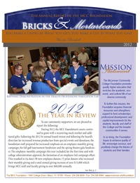online magazine - MCC Foundation 2012 Annual Report