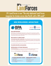 online magazine - SP's Land Forces - BPA Worldwide Flyer
