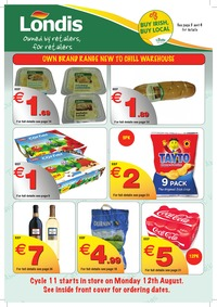 online magazine - Londis Retailer Brochure Cycle 11