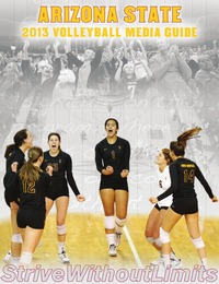 online magazine - 2013 Arizona State Volleyball Media Guide
