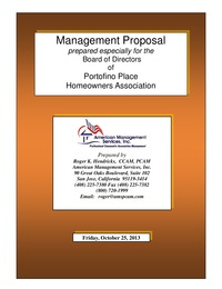 online magazine - Portofino Place Management Proposal