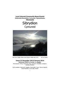 online magazine - Sibrydion Cymuned, December 2013/January 2014