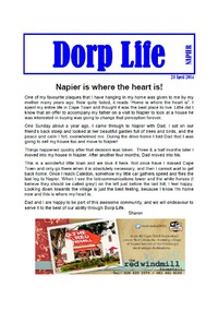 online magazine - Dorp Life - April 2014