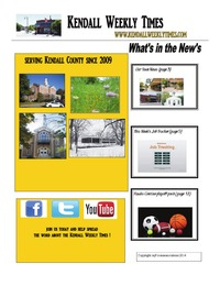 online magazine - Kendall Weekly Times