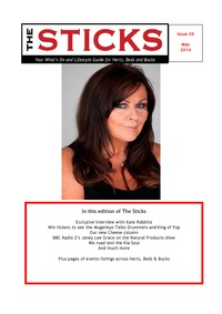 online magazine - May Sticks digital magazine - What's on in Herts,Beds & Bucks