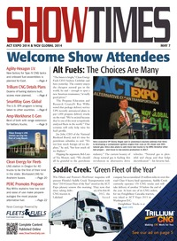 online magazine - ShowTimes ACT Expo 2014 & NGV Global 2014 - May 7, 2014