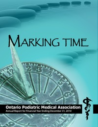 online magazine - OPMA Annual Report 2010, Marking Time