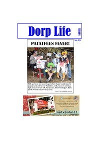 online magazine - Dorp Life -  (the Patatfees Edition) 1 June 2014