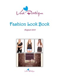 online magazine - Voce Boutique Women's Fashion Look Book August 2014