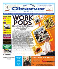 online magazine - River View Observer  August `18th -August 31st, 2014