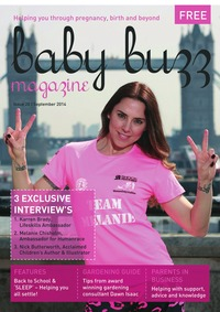 online magazine - September Issue - Baby Buzz Magazine
