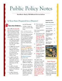 online magazine - Public Policy Notes Volume 7, Issue 9