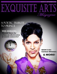 online magazine - Exquisite Arts Magazine- Issue 2- Sept/ Oct 2016
