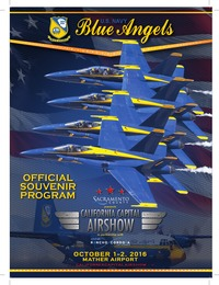 online magazine - California Capital Airshow Souvenir Program