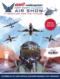 online magazine - Fort Worth Alliance Air Show Souvenir Program-1