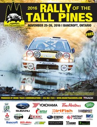 online magazine - Tall Pines Rally - Official 2016 Event Program