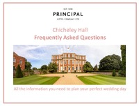 online magazine - Chicheley Hall Frequently Asked Questions - Weddings
