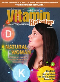 online magazine - Vitamin Retailer January 2017