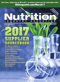 online magazine - Nutrition Industry Executive March 2017