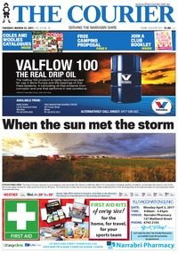 online magazine - The Courier and Wee Waa News, Tuesday, March 21, 2017