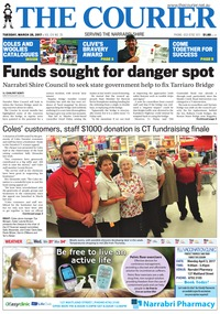 online magazine - The Courier and Wee Waa News, Tuesday, March 28, 2017