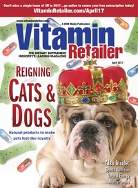 online magazine - Vitamin Retailer April 2017