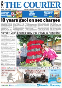 online magazine - The Narrabri Courier and Wee Waa News 24.4.17