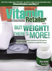 online magazine - Vitamin Retailer May 2017