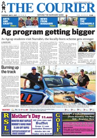 online magazine - The Courier, Thursday, May 4, 2017
