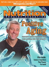 online magazine - Nutrition Industry Executive May 2017