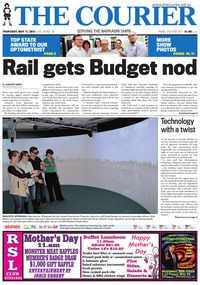 online magazine - The Courier, Thursday, May 5, 2017