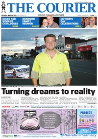 online magazine - The Courier and Wee Waa News, May 16, 2017