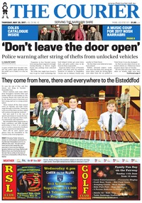 online magazine - The Courier, May 25, 2017