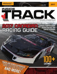 online magazine - Inside Track Motorsport News • CRG Schedule Issue • Jul Spec Comp