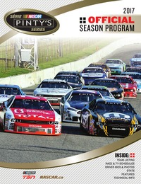 online magazine - NASCAR Pinty's Series Program 2017