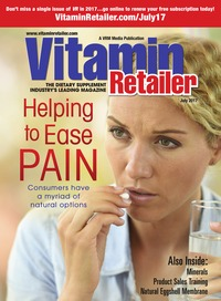 online magazine - Vitamin Retailer July 2017