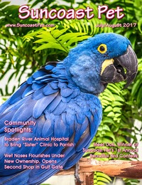 online magazine - Suncoast Pet - July-August 2017
