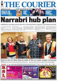 online magazine - The Courier, July 13, 2017