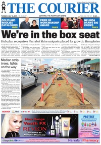 online magazine - The Courier and Wee Waa News, July 18, 2017