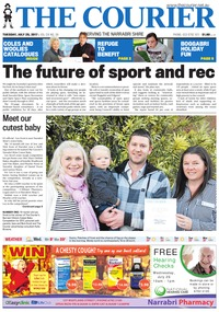 online magazine - The Courier and Wee Waa News, July 25, 2017
