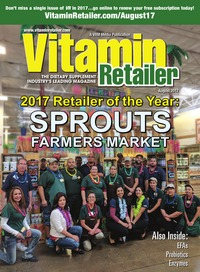 online magazine - Vitamin Retailer August 2017
