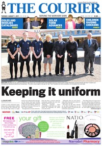 online magazine - The Courier and Wee Waa News, August 1, 2017